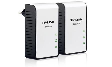 Kit Adaptador Powerline 200Mbps TL-PA211KIT - Tplink