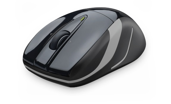Mouse M525 Laser Wireless Preto 910-003256 - Logitech