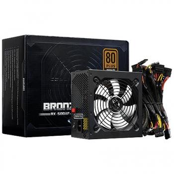Fonte ATX 600W Real RX-600AF 80 Plus Bronze - Raidmax