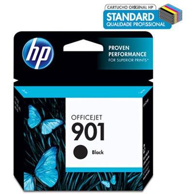 Cartucho de Tinta HP 901 Preto CC653AB - HP