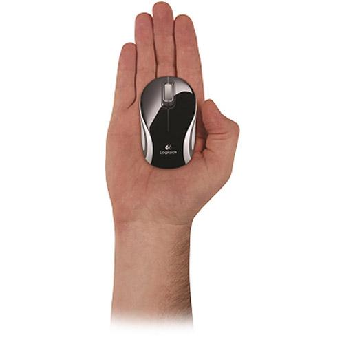 Mouse Óptico Mini M187 Wireless Preto 910-003253 - Logitech