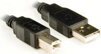 Cabo USB 2.0 A-Macho x B-Macho 3 Metros PC-USB3001 (para Impressora) - Plus Cable