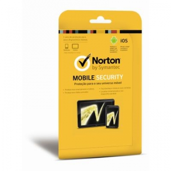 Norton Mobile Security 3.0 BR 1U Card (Android) NMS 3.0 BR 1U CARD TTPKG 21289961 - Norton
