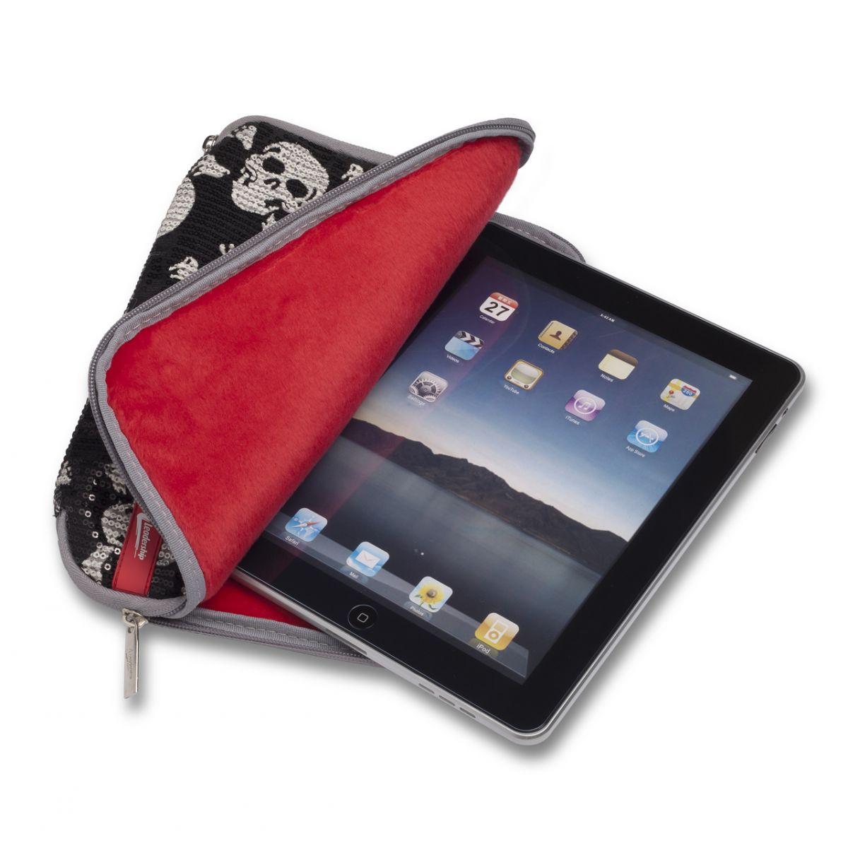 Case Caveira com Paetês para iPad e iPad 2 0759 - Leadership