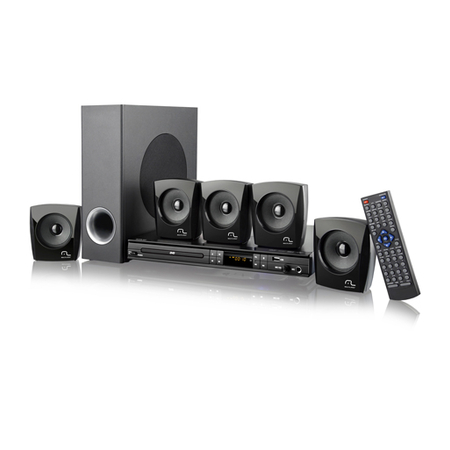 Home Theater HDMI 240W RMS USB e Karaokê SP168 - Multilaser