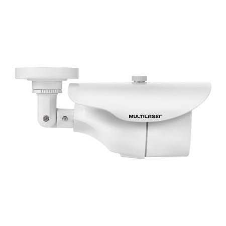 Câmera Externa Sensor Sony CCD 1/3´´ Infravermelho 25m Anti Vandalismo SE010 Branca - Multilaser