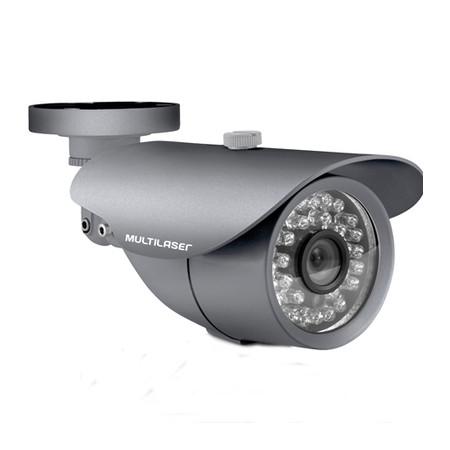 Câmera Externa Sensor Sony CCD 1/3´´ Infravermelho 25m SE005 Cinza - Multilaser