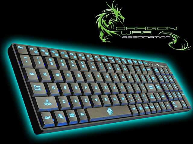 Teclado Dragon War Dark Sector Professional Gaming GK-002 - Dragon War