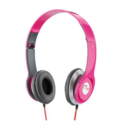 Fone Headphone Rosa PH068 - Multilaser