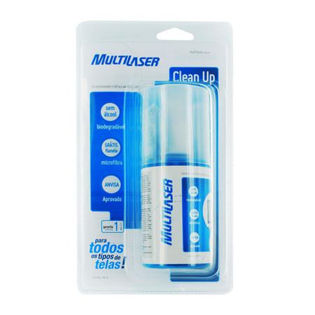 Spray Limpador Para Todos os tipos de Telas 200ML AC126 - Multilaser