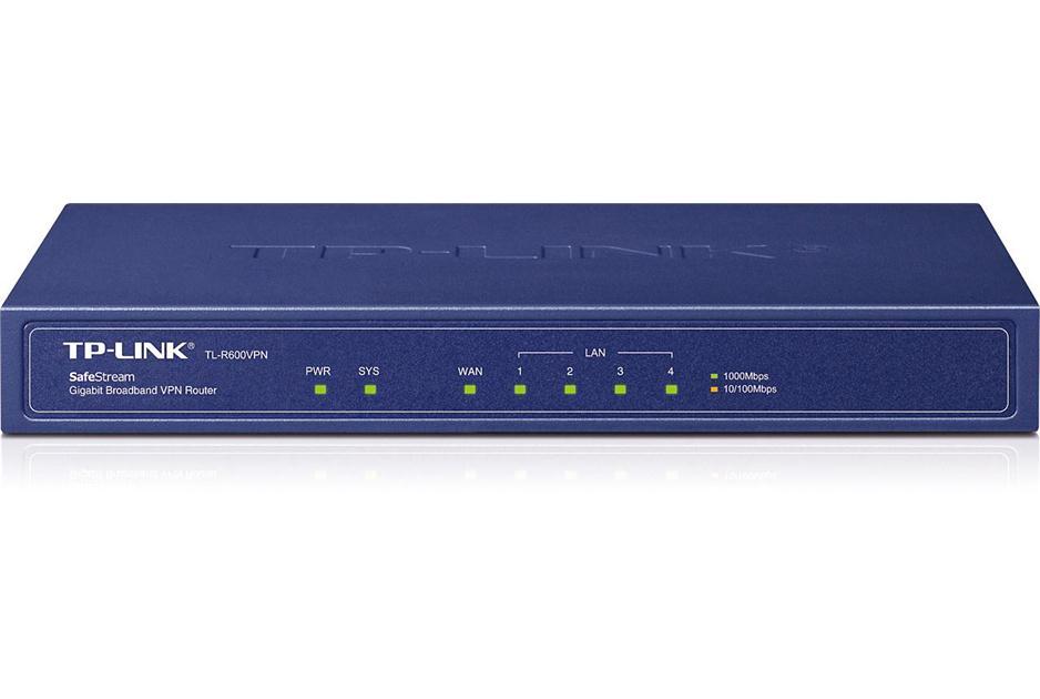 Roteador Broadband VPN 4- Portas Gigabit TL-R600VPN - Tplink