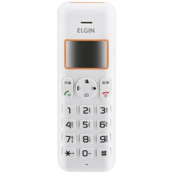 Telefone Sem Fio TSF-5002 Com Identificador de Chamadas Branco - Elgin