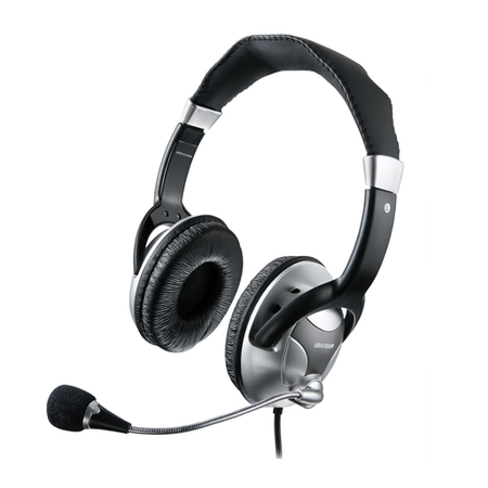 Headphone Haste Flexivel Microfone Metal Preto / Prata PH031 - Multilaser
