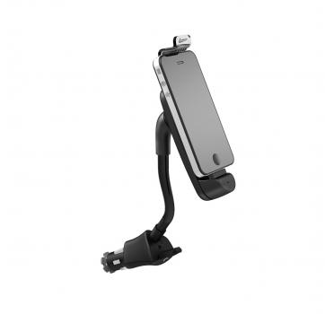 Suporte Veicular 12V Com Carregador USB Iphone 4/4S 1335 - Leadership