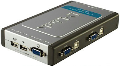 Server Switch DKVM-4U BR 4 Portas KVM USB - D-Link