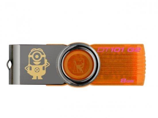 Pen Drive 8GB DT101 G2 Meu Malvado Favorito 2 KC-U308G-3W - Kingston