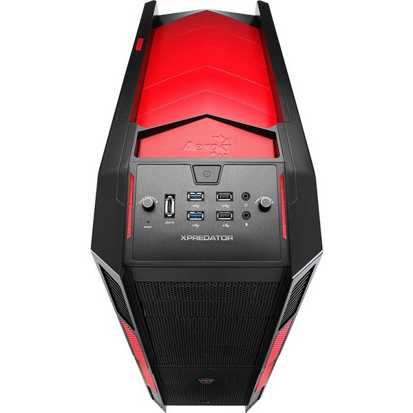 Gabinete Full Tower Xpredator Devil Red Window EN52436 - Aerocool