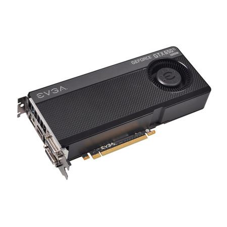 Placa de Vídeo Geforce GTX650TI Superclocked Boost 1GB DDR5 192Bit 01G-P4-3656-KR - EVGA