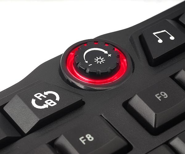 Teclado Gamer USB Iluminado (Vermelho/Azul) ZM-K400G - Zalman