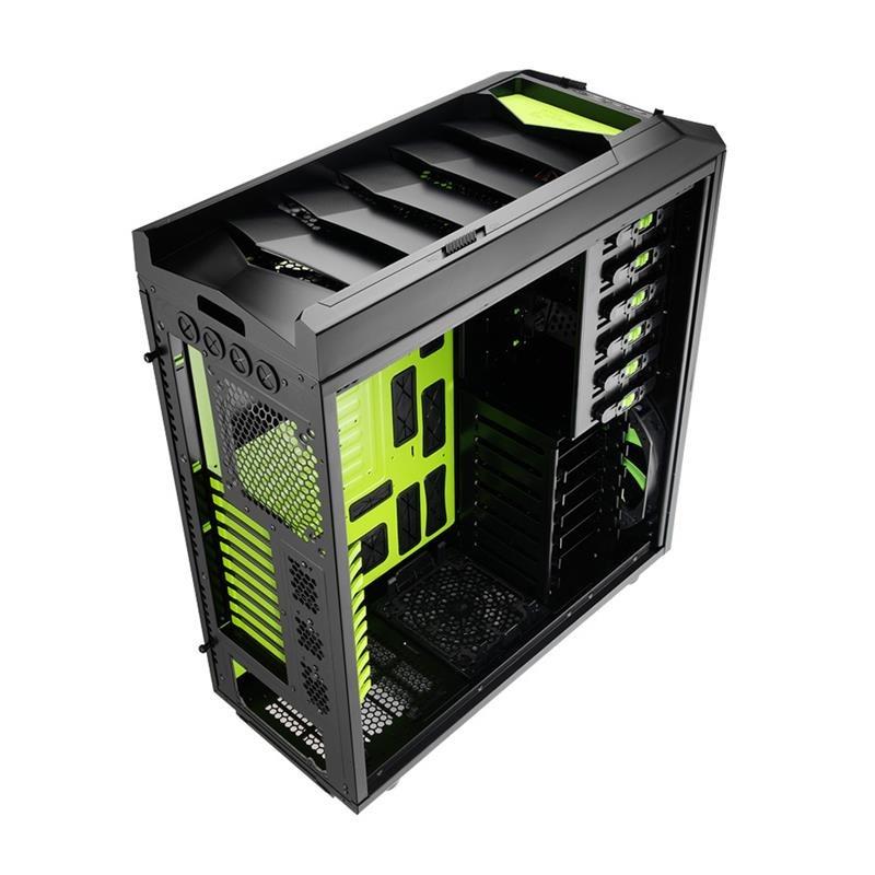 Gabinete ATX XPredator Evil Green EN58124 - Aerocool