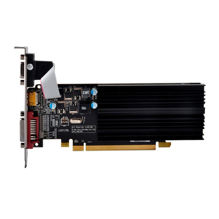 Placa de Vídeo ATI R5 230 2GB DDR3 625M Perfil Baixo R5-230A-CLH2 - XFX