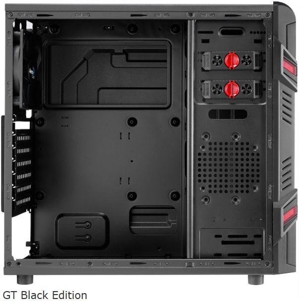 Gabinete ATX GT Black EN52209 - Aerocool