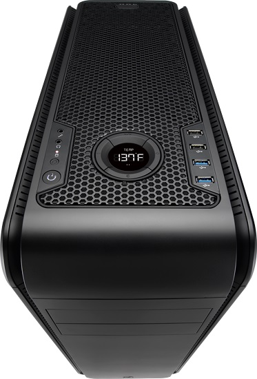 Gabinete ATX DS200 Light Black EN52575 - Aerocool