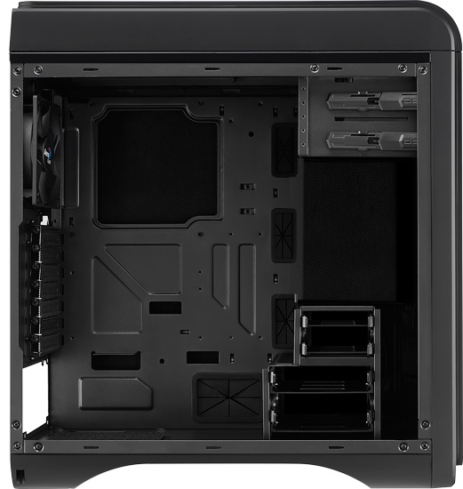 Gabinete ATX DS200 Light Black EN52575 - Aerocool