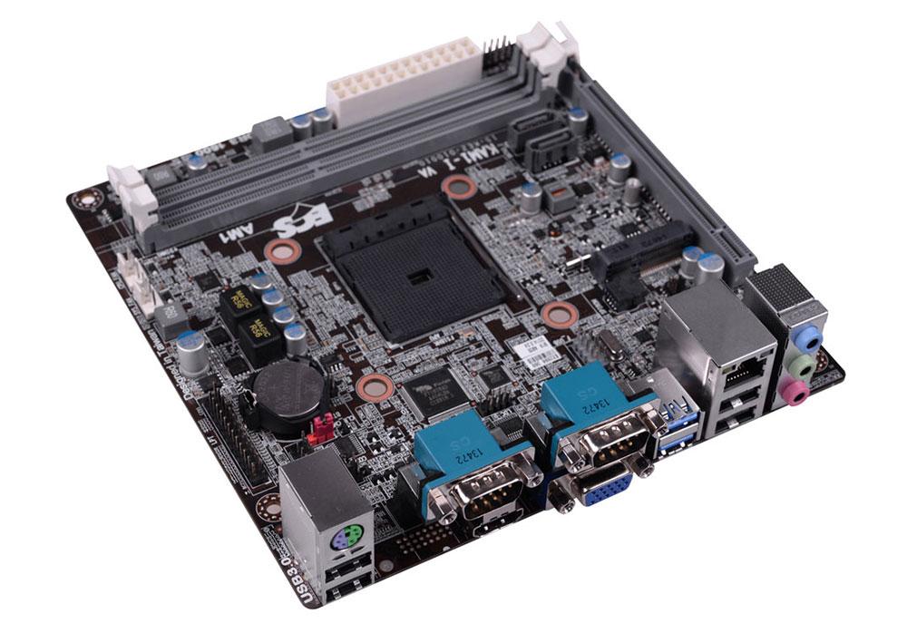 Placa Mãe AM1 KAM1-I Mini ITX (S/V/R) USB 3.0 Sata III - ECS