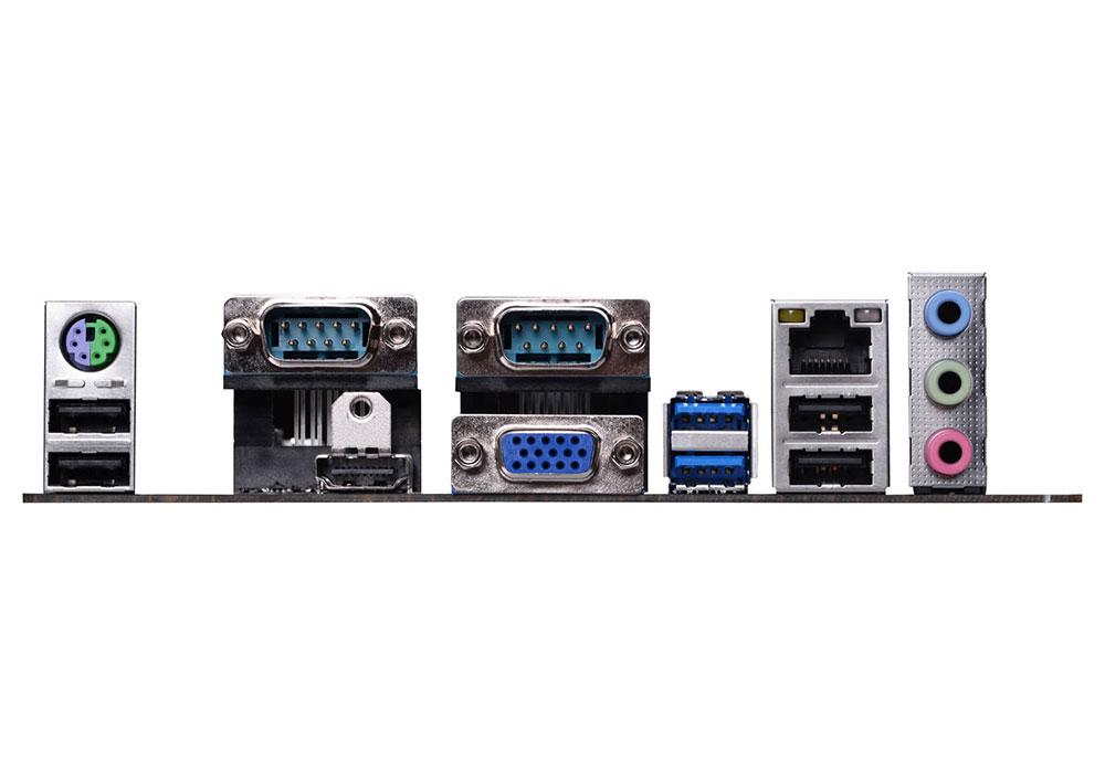 Placa M�e AM1 KAM1-I Mini ITX (S/V/R) USB 3.0 Sata III - ECS