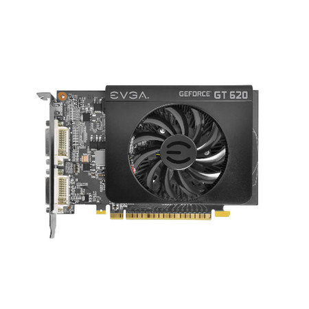 Placa de Video GeForce GT620 1GB DDR3 64Bits 01G-P3-2625-KR - EVGA