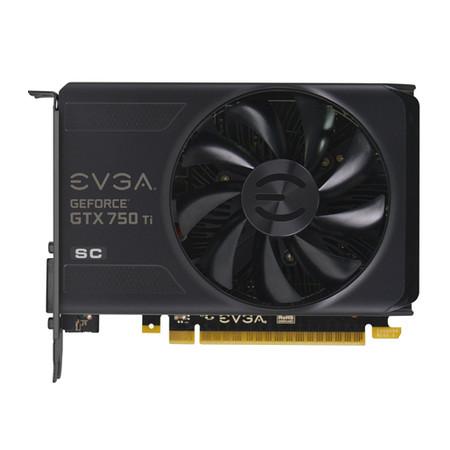 Placa de Vídeo GTX750TI 2GB SC DDR5 128Bits PCI-E 02G-P4-3753-KR - EVGA