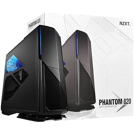 Gabinete Ultra Tower Phantom 820 Preto C/Lateral em Acrílico CA-PH820-M1 - NZXT