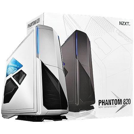 Gabinete Ultra Tower Phantom 820 Branco C/Lateral em Acrílico CA-PH820-W1 - NZXT