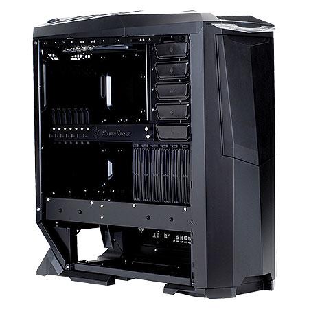 Gabinete Ultra Tower Raven Series Preto SST-RV01B-W USB 3.0 - Silverstone