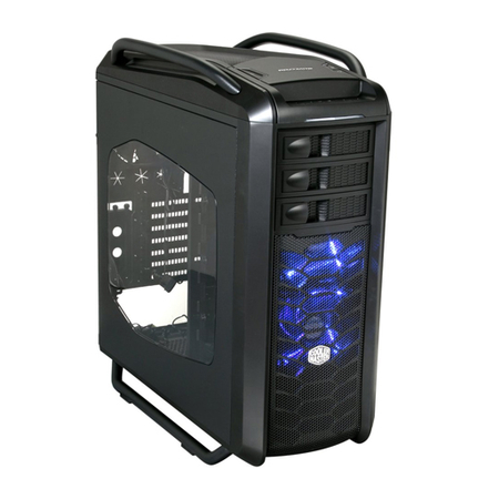 Gabinete Cosmos SE Preto COS-5000-KWN1 - CoolerMaster