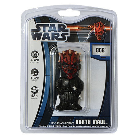 Pen Drive USB 8GB Darth Maul DM4001-8/FD - PNY