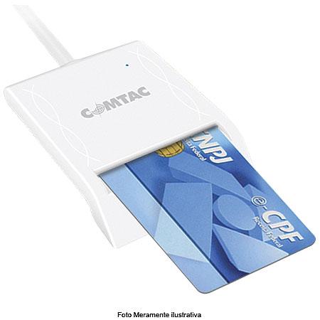 Leitor e Gravador de Cartão Smartcard USB 2.0 SC/USB 9202 - Comtac