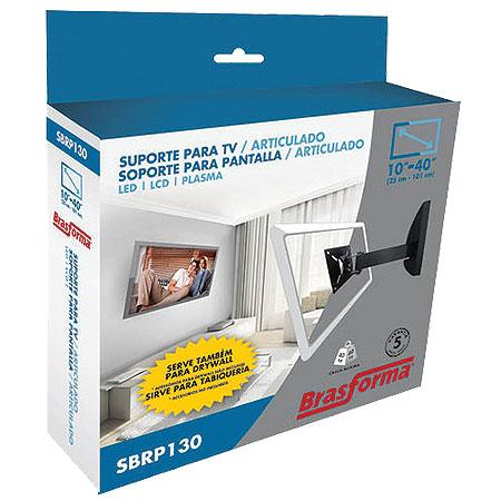 Suporte Para TV LCD de 10 a 42 SBRP130 Preto 9159 - Brasforma