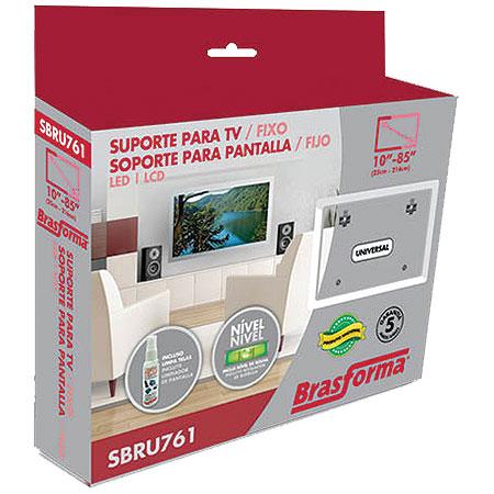 Suporte Para TV de 10 a 71 + Limpa Telas SBRU761 15488 - Brasforma