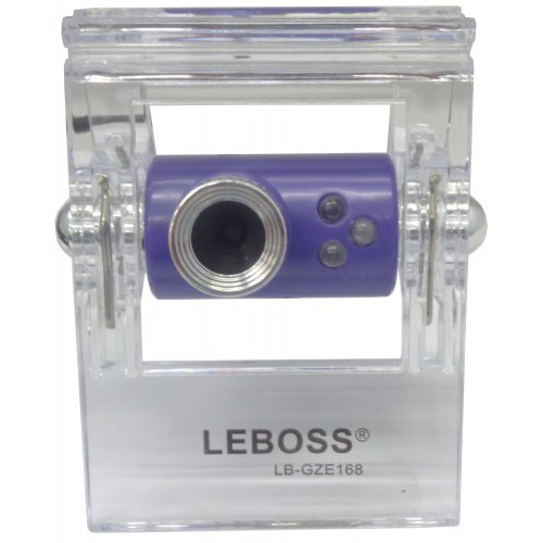 Webcam GZE168 Roxo Com Leds A2613 - Leboss