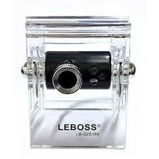 Webcam GZE168 Preto Com Leds A2613 - Leboss