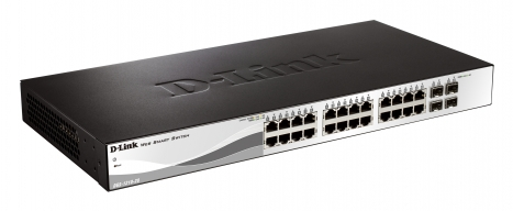 Switch Switch Gerenciavel 28 Portas Giga DGS-1210-28 BR - D-Link