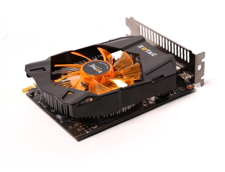 Placa de Vídeo Geforce GTX750TI 1GB DDR5 128Bits ZT-70603-10M - Zotac