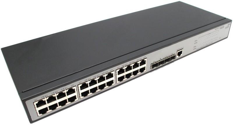 Switch V1910-24G JE006A 24p Giga + 4p SFP - HP