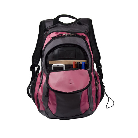 Mochila para Notebook 15,4 Cinza/Rosa PON406PK - Sumdex