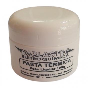 Pasta Térmica Pote 100G - Implastec