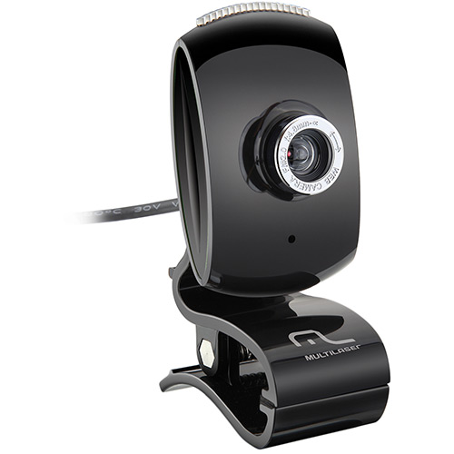 Webcam Facelook WC046 - Multilaser