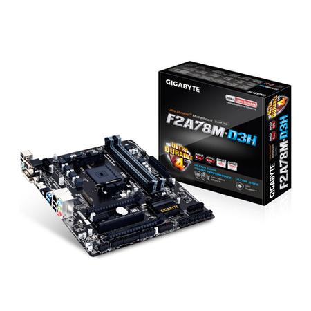 Placa M�e FM2+ GA-F2A78M-D3H (S/V/R) - Gigabyte