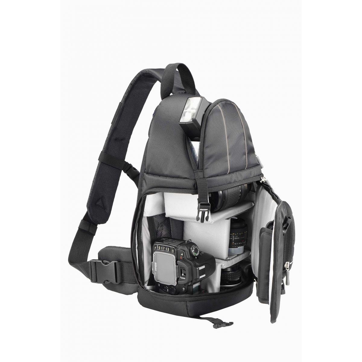 Mochila para C�mera DSLR Xposure II Preta POC484BK - Sumdex